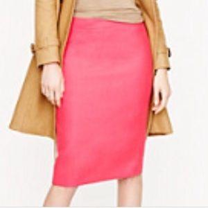 J. Crew Light Pink No 2 Pencil Skirt Sz. 8